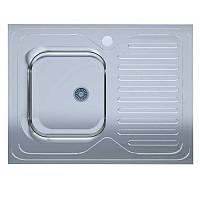Мойка кухонная UA Light 60х80-L нержавейка, покрытие Decor