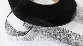 Паутинка  клеевая  черная 1,5 см