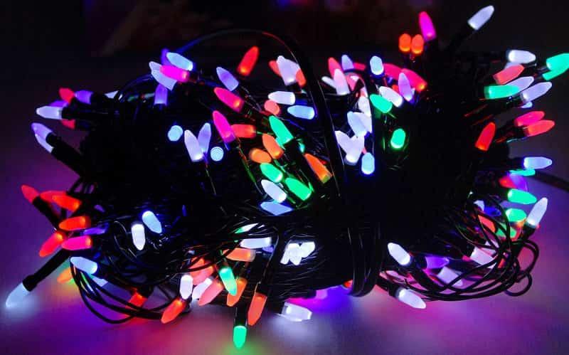 Гирлянда 300 LED Multi (Конус)