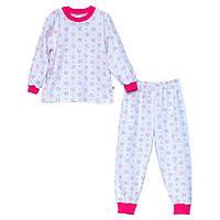 Пижама для девочки размер 92-110