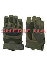 Перчатки тактические Oakley полнопалые Gen.I Olive 11455