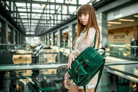Рюкзак средний |11905| Зеленый