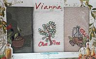 Набор кухонных полотенец 3шт. Vianna оливки