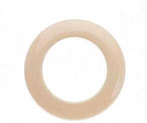 Люверс для штор пластик 13 беж (3.5*5.5 см)