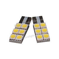 Автосветодиод T10-WG-6SMD(5050)-12V(one side; non-polarized)