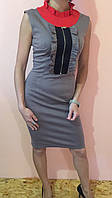 Сукня жіноча ZEAN 1006 сіре 34-38