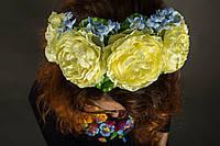 Обруч Жовті троянди, фото 1