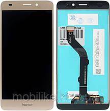 Дисплей с сенсорным экраном Huawei P8 Lite - 2017 (PRA-LA1) золотой