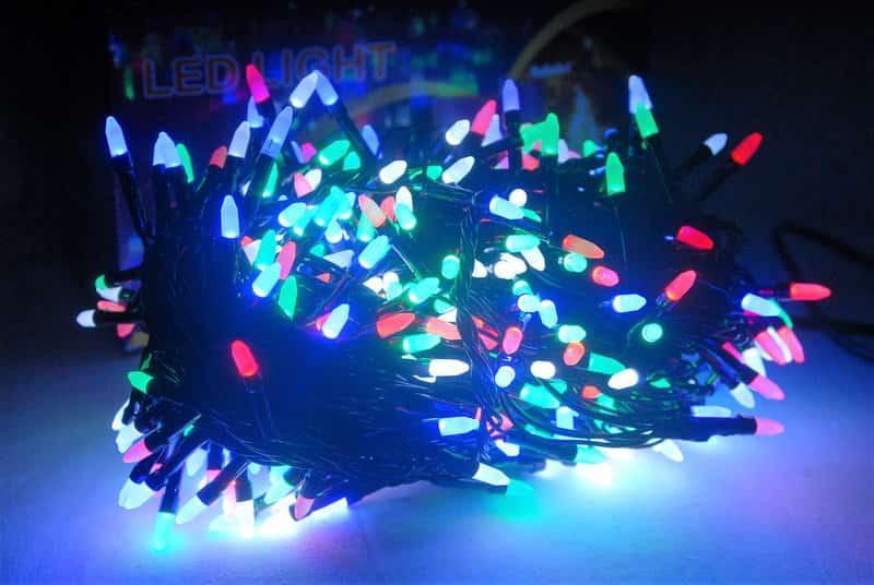 Гирлянда 400 LED Multi (Конус)
