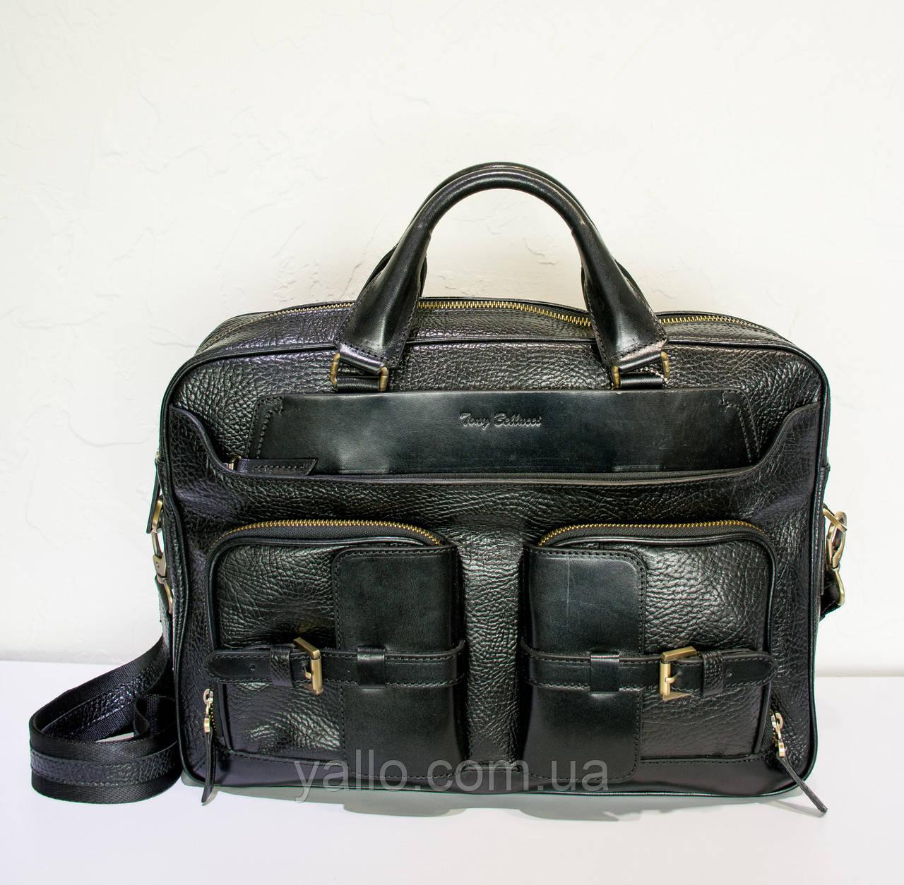 Мужская кожаная сумка Tony Bellucci T5014-893