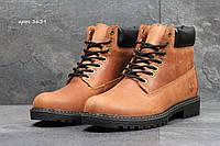 Ботинки мужские Timberland зимние натуральная кожа