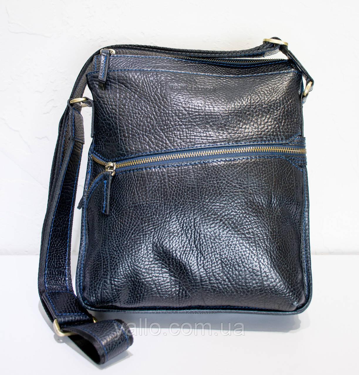 Натуральная кожаная сумка для мужчин Tony Bellucci T5029-894