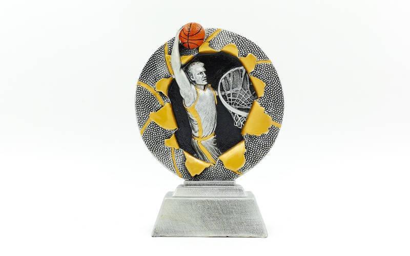 Статуэтка (фигурка) наградная спортивная Баскетбол C-4793-C1