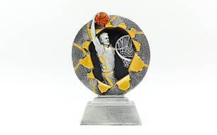 Статуэтка (фигурка) наградная спортивная Баскетбол C-4793-C1, фото 2
