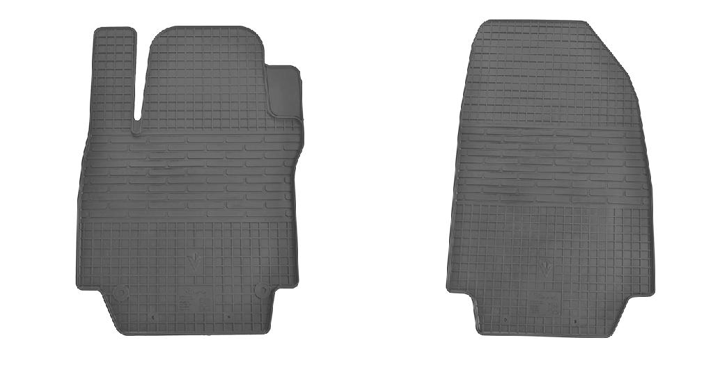 Коврики в салон для Renault Captur 13-/ Clio III 05-/ Clio IV 12- (передние - 2 шт) 1018082