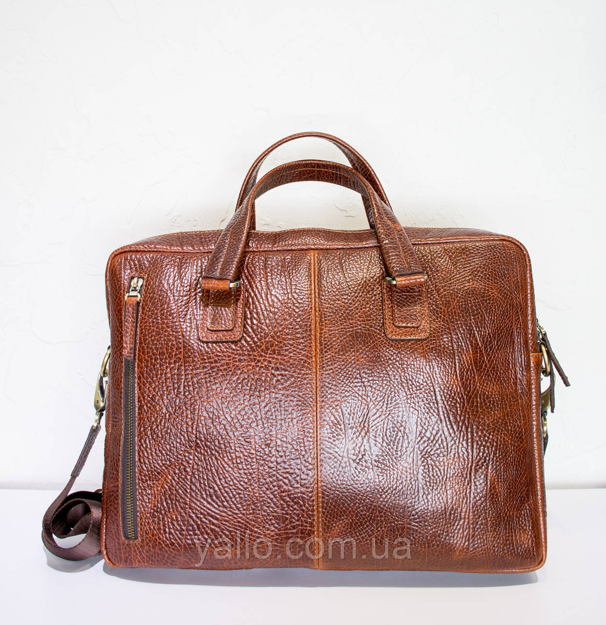 Натуральная кожаная сумка для мужчин Tony Bellucci T5095-896