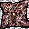 Павлопосадский шерстяной платок Мгновение, фото 4