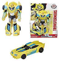 Трансформер бамблби Роботы под прикрытием Transformers Robots in Disguise 3-Step Changers Bumblebee Figure