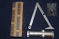 Дверной доводчик GEZE TS 1000 с тягой,  серебро