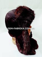 Теплая шапка-ушанка кролик от производителя