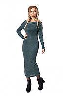 Комфортное теплое платье