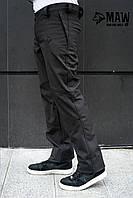 Soft Shell мужские штаны на флисе влагоустойчевые MAW man&wolf
