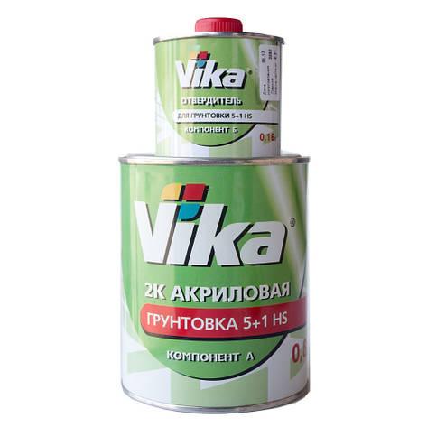 Грунт акриловый 5+1 HS Vika Вика (комплект 1,42кг) Черный, фото 2
