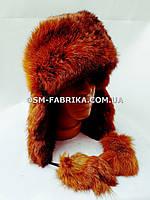 Мягкая шапка-ушанка для женщин новинка сезона