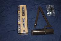 Дверной доводчик GEZE TS 1000 с тягой,  коричневый