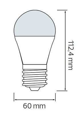 Диммируемая светодиодная LED лампа EXPERT-10-3K, фото 2