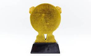 Статуетка (фігурка) нагородна спортивна Дартс C-1856-B, фото 2