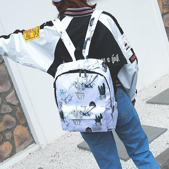 рюкзак с кактусом