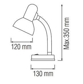 Настольный светильник BIHTER, фото 2