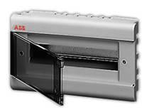 ABB Europa Бокс встраиваемый серый 12 модулей с дымчатой дв. IP40  (12062)