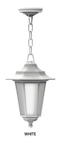 Светильник садово-парковый BEGONYA-3-WHITE, фото 2