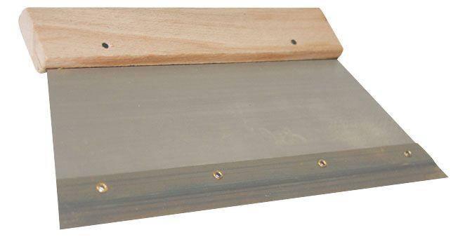 Тримач для зубчастих металевих пластин 18 см Шпатель для зубчатых пластин, фото 2