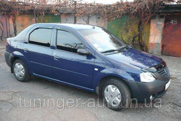 Ветровики на Dacia в Украине