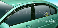 Дефлекторы окон на Hyundai Elantra HD (4 шт)