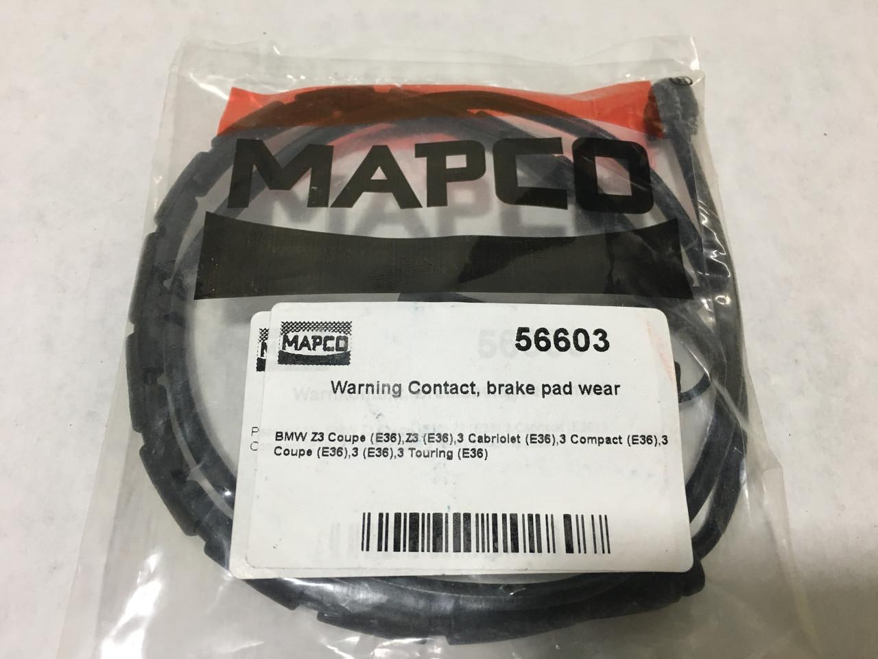 Сигналізатор для зноса гальмівних колодок MAPCO 5660