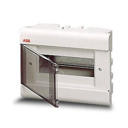 Бокс ABB EUROPA в нишу 8 модулей, цвет белый с прозрачной дверцей 1SL2057A00