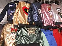 Куртка бомбер детская для девочки 110, 116, 122 на 5, 6, 7 лет Bnad-350a