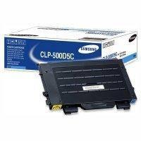 Картридж Samsung CLP-500/ 500N/ 550/ 550N cyan, фото 2