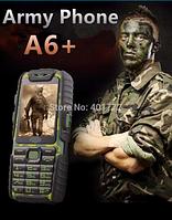 Защищенный телефон A6+ Land Rover тактический, Батарея 9800 мА/ч