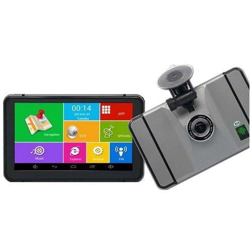 Навігатор Android GPS + регістратор 7d IPS 4 ядра+ 8gb+Wi-Fi+Bluetooth+AV+512ddr