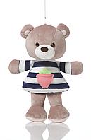 Мягкая игрушка Мишка Бени сидячий K410А Левеня, 28см