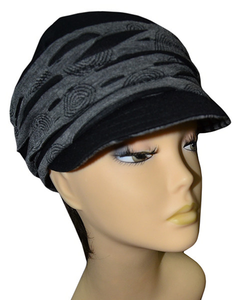 Женская шляпа Ассоль трикотаж