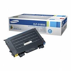 Картридж Samsung CLP-510/ 510N cyan, фото 2