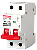 Модульный автоматический выключатель e.mcb.pro.60.2.C 32 new, 2р, 32А, C, 6кА