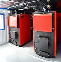 Теплогенератор модульный на твердом топливе мощностью от 100 кВт до 10 МВт (ручная загрузка)