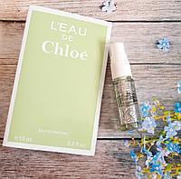 Женская туалетная вода L'eau de Chloe - 15 мл